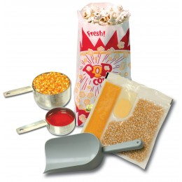 Benchmark 45004 Popcorn Starter Kit for 4oz. Popcorn Popper
