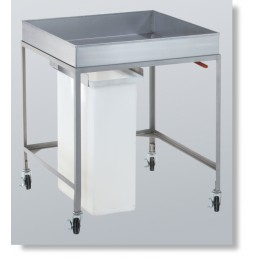 Cretors 15247 Cooling Cart w/ Removable Bin
