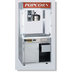 Cretors 20 oz. Diplomat Popcorn Machine w/ 3 Ft Base