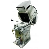 Cretors NEW Infrared Gas Burner Giant Thunder Stainless Steel Kettle 60oz Digital Control R/H Dump Natural Gas 120V