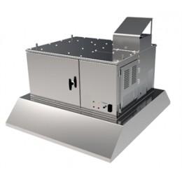 Giles OVH-10 79873 Ventless Recirculation Hood 3 Stage Filtration System 208V/240V