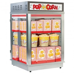 Gold Medal 2002 Astro Popcorn Staging Cabinet Forced Air Crisper