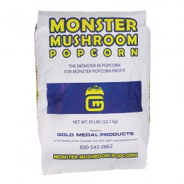 Gold Medal 2031WM Monster Mushroom Popcorn Plastic Bag 50lbs
