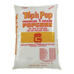 Gold Medal 2032WG Top N Pop Popcorn 35lb Bag