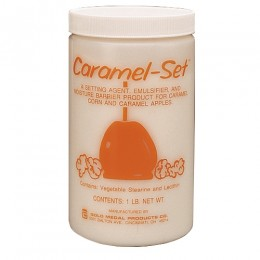 Gold Medal 2087 Caramel-Set 1 lb Container