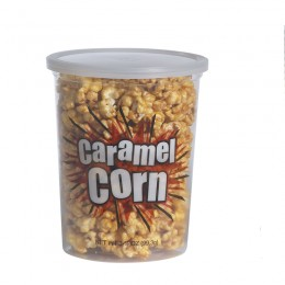 Gold Medal 2135 Caramel Corn 5oz Containers w/Lids 500/CS