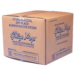 Gold Medal Glaze Pop 50lb Available Flavors
