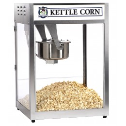 Gold Medal Kettle Corn Macho Pop Value Line Popper Back Counter Model