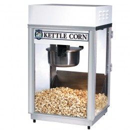 Gold Medal 2660KC Kettle Corn 6oz Deluxe 60 Popper 120V