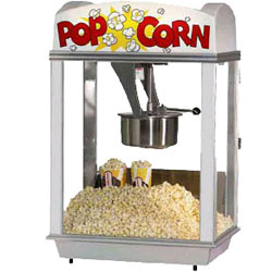 Gold Medal Whiz Bang 12 oz. Popcorn Machine Lighted Dome 120V
