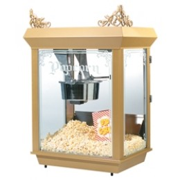 Gold Medal 2014 Gay 90`s Whiz Bang 12/14oz. Popcorn Machine