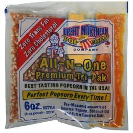 Great Northern 6 oz. Portion Popcorn Packs 24/CS