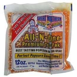 Great Northern 12oz Portion Popcorn Packs 24/CS