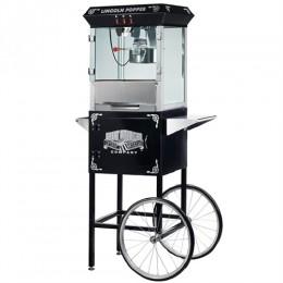 Great Northern 6005 Lincoln 8oz Popcorn Machine/Cart Black