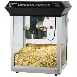Great Northern Lincoln 8 oz Popcorn Machine Black