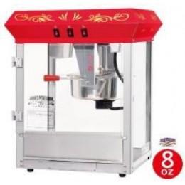 Great Northern 6100 Foundation 8 oz Popcorn Machine Red