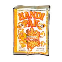 Great Western 10055 Handi Pak 12oz Popcorn Packs 24/CS