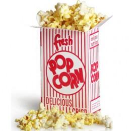 Great Western 11057 Close Top .95oz Popcorn Box 2E 500/CS