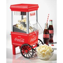 Nostalgia OFP501COKE Vintage Coke Series Hot Air Popcorn Maker