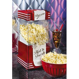 Nostalgia Electrics - Retro Series Hot Air Popcorn Popper - Red