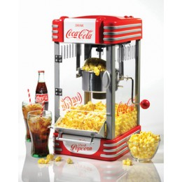 Nostalgia RKP630COKE Retro Coke Series Kettle Popcorn Maker Red