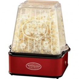 Nostalgia 6 Quart Theater Popcorn Maker Red