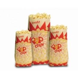 Paragon 1036 Jumbo 2 oz. Popcorn Bags 1000/CS