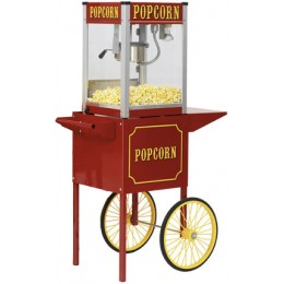Paragon Theatre Pop 12 oz Popcorn Machine w/ Cart 120V