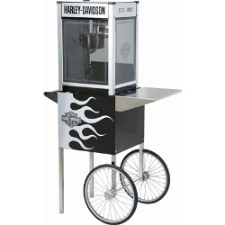 Paragon Harley Popcorn Machine 4oz w/ Cart
