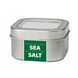 Wabash 41085 Extra Fine Sea Salt Metal Tin