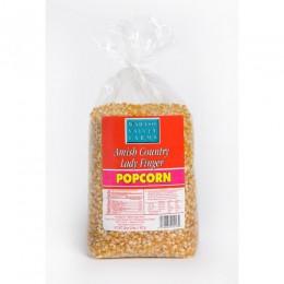 Amish Popcorn Ladyfinger Specialty Hulless - 2 lb bag