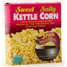 Kettle Corn All Inclusive Popping Kits - 3 Pack