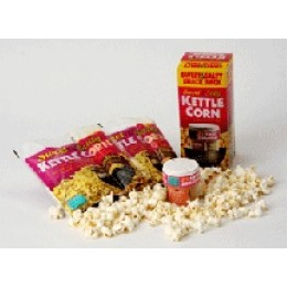 Wabash 45058 Sweet and Salty Snack Pack, 2 Popping Kits and Seasoning