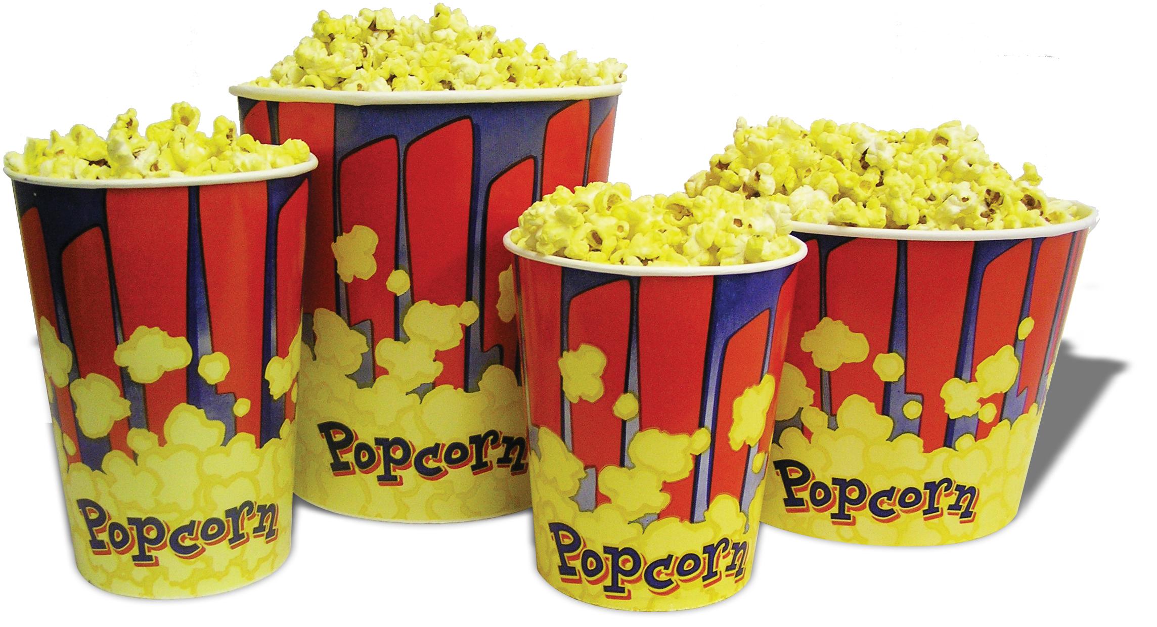 Benchmark Usa 32 Oz Popcorn Tubs 100 Cs